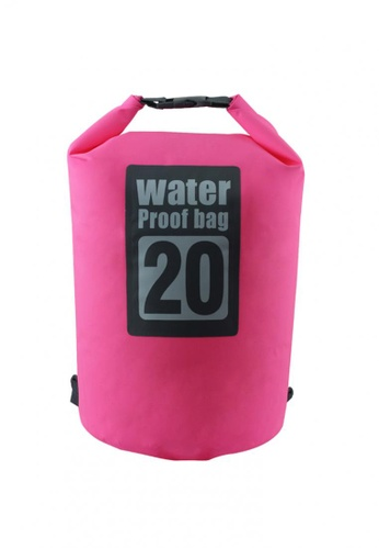 Travel Manila pink Portable Water Proof Nautical Dry Travel Backpack 20 TR905AC0IS8NPH_1