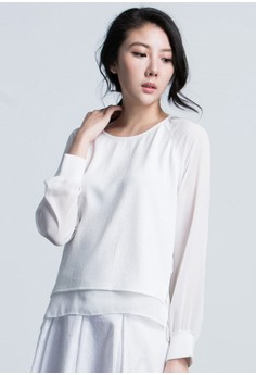 Modestly Breezy Paneled Top