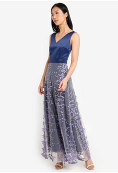 1ee345c865 20% OFF Megane Red Romance Diannah V-Neck Long Dress RM 329.00 NOW RM  263.00 Sizes S M L XL