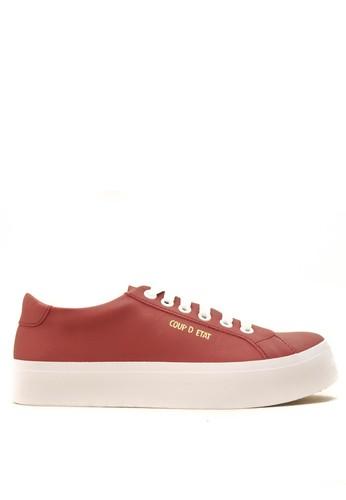CDE red CDE Ceremonial Women Sneaker Maroon CD965SH03LKAID_1