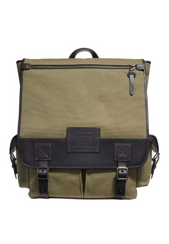 Coach green Scout Backpack (cv) 846ACACA2C4D76GS_1