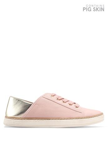 Keddo pink Soft Back Detail Original Laced-Up Sneakers 5D861SHAF78684GS_1