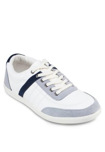 異材質撞色休閒鞋, 鞋, zalora 心得休閒鞋