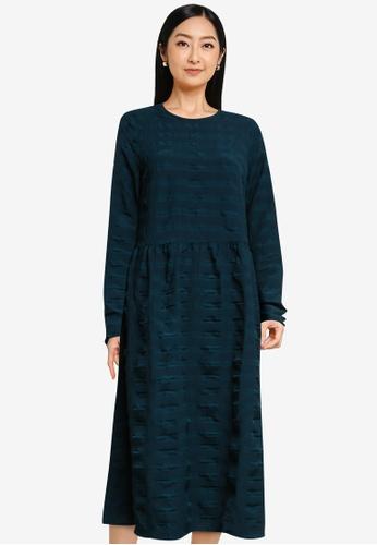 Vero Moda navy Lucy Long Sleeve Dress D11CFAA821415CGS_1