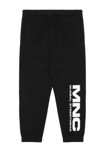 Mini cream black MNC Splice big logo joggers 86993AAB4EBB9CGS_1