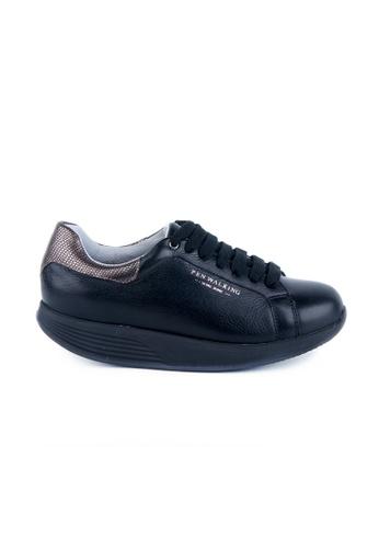 Twenty Eight Shoes 黑色 PEN WALKING 健康功能鞋 28F1DSHC1111E8GS_1