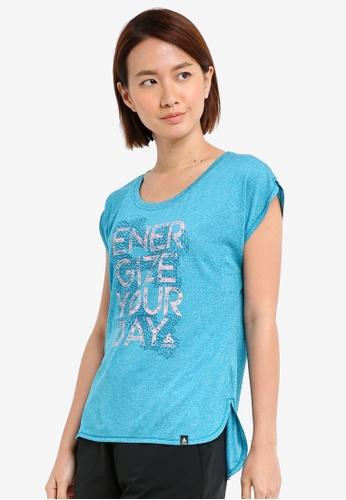 Odlo blue Helle Short Sleeve T-Shirt 08AA7AA24598E5GS_1