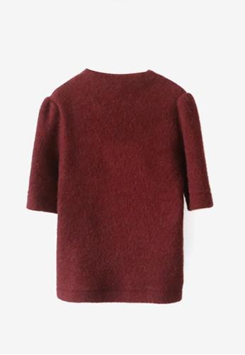 泡泡肩修身上衣,esprit retail 服飾, T恤