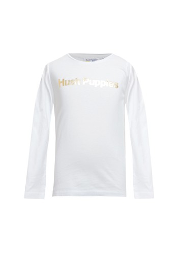 Hush Puppies white Jayden - Tee 189B9KAA2342A5GS_1
