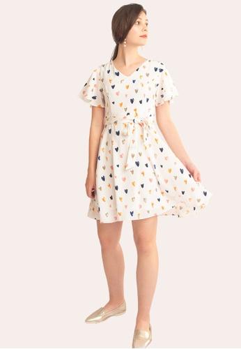 L'zzie white LZZIE ORABELLE DRESS - WHITE 6AFBDAA683A160GS_1