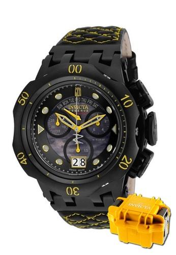 INVICTA black Invicta JT Men Swiss Quartz Chronograph 51mm Limited Edition Rare Watch 17184 w/ Impact Case B81EDACD35A5C8GS_1