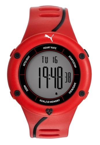 Puma red PU911361003 Cardiac 01 Red Black Men Watch PU549AC0RJW2MY_1