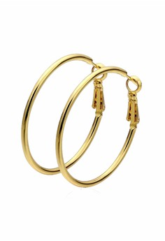 Penelope Gold Hoop Earrings