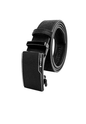 Playboy black 35mm Auto Belt F8644AC4A3BC19GS_1