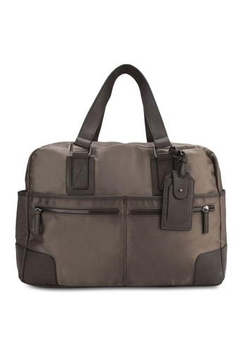 Carbonhill 旅行手提zalora taiwan 時尚購物網鞋子包, 包, 旅行袋