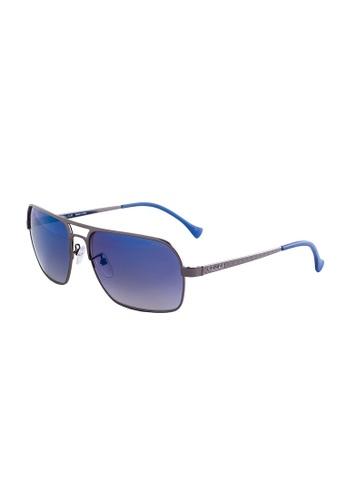 Police blue POLICE Defence 4 Square Blue Sunglasses SPL147 PO706AC28OWPMY_1