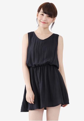 Tokichoi black Ribbon Back Dress 34797AAF9D8B9AGS_1