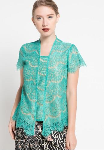 bhatara batik green Kebaya Lace BH237AA80ULNID_1