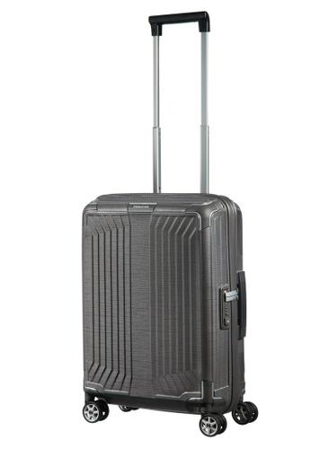 Samsonite grey Samsonite Lite-Box Spinner 55/20 Luggage 9E2EBAC6B73A22GS_1