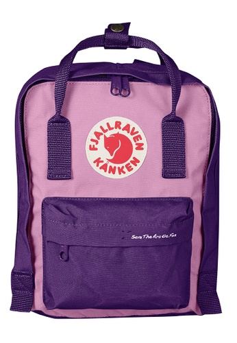 Fjallraven Kanken purple Purple-Orchid Kanken Mini Backpack Save The Arctic Fox Kanken 4F024AC85F24C4GS_1