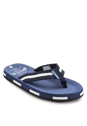 撞色休閒拖鞋,zalora時尚購物網的koumi koumi 鞋, 鞋
