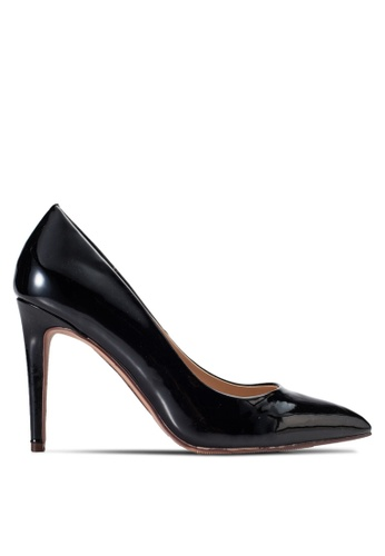 Dorothy Perkins black Black Patent Emily Point Court Shoes DO816SH47DEAMY_1
