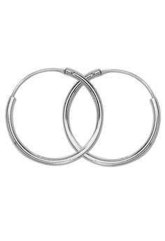Curve line design Loop Earring