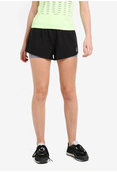 【ZALORA】 Foundation Running Essentials 2-In-1 Shorts