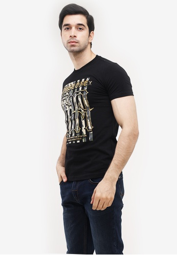 Dyse One black Round Neck Muscle Fit FBBE9AAFC0F583GS_1