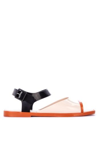 Melissa beige Crush Sandals C262DSHEEC592BGS_1