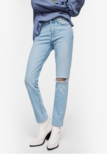 Mango blue Relaxed Girlfriend Jeans D9896AAC53277AGS_1