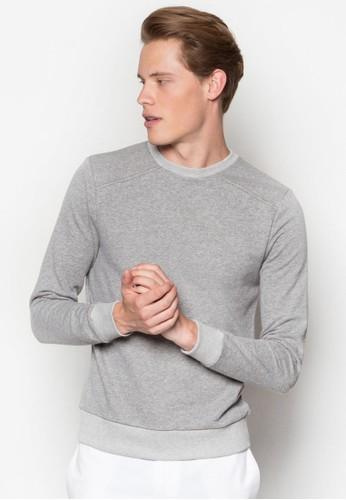 經典暗紋長袖衫, 服飾esprit tsim sha tsui, 運動T恤