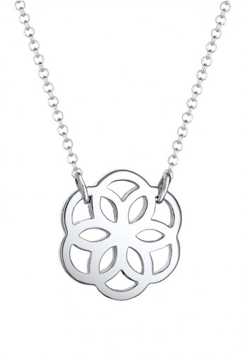 ELLI GERMANY Elli Germany 925 Sterling Silver Kalung Flower Silver