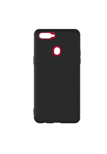 MobileHub black Oppo F9 X-Level Slim Case Rubberized Matte Finish B1246AC2374057GS_1