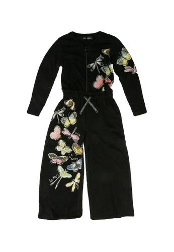 Desigual black Butterfly Jumpsuit 81834KAD4879EEGS_1