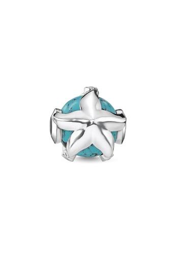"THOMAS SABO silver Bead ""starfish"" 1828BAC34BFC23GS_1"