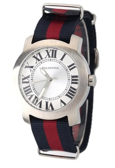 Emile Steel Watch on Nato Strap 15WS-EML-NATO1