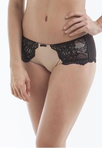 Raquel Lingerie beige Eliza Nude High-Waist Panty RA363US24USTID_1