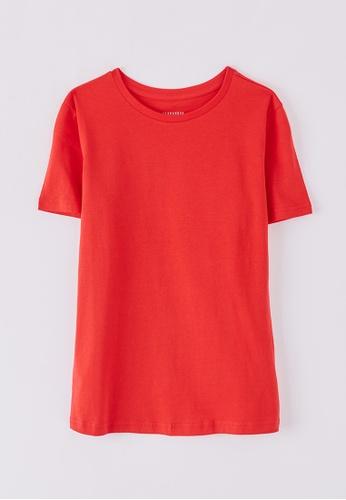 Terranova red Women's T-Shirt 1F20EAA31249B6GS_1
