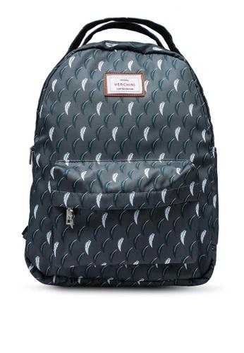 Verchini grey School Backpack 2207DACC19E640GS_1