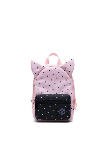 Parkland multi Parkland Kids Little Monster Backpack Polka Dots Quartz -6.5L 92BD5KC38BFE93GS_1