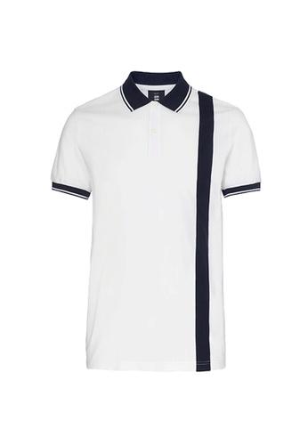 Kent and Curwen white White Polo Shirts 4B983AA4DD87B7GS_1