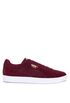 7a4a4e0306378b Puma red Suede Classic + Sneakers 1D6ABSHA3B87ABGS 1