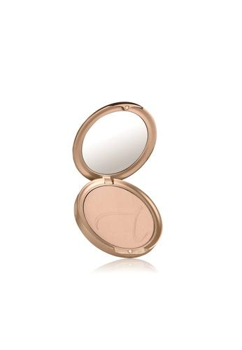 Jane Iredale pink and beige Purepressed Base Compact- Suntan JA379BE83MZKSG_1