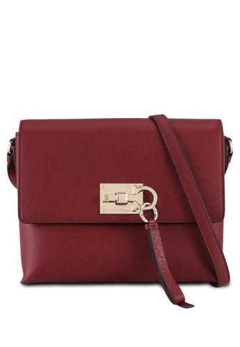 Ferragamo red Flap Studio Sling Bag (oc) 6B880AC5FA2E7BGS_1