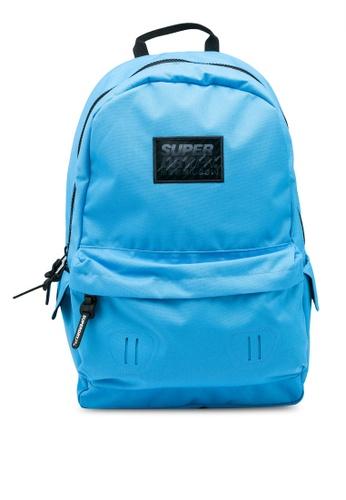 SUPERDRY blue Hologram Montana Backpack 7AB1FACD883355GS_1