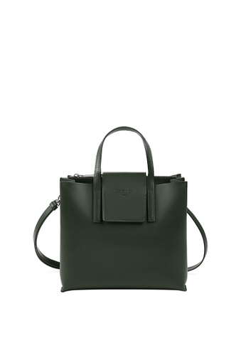 RABEANCO green RABEANCO LUCIA BOXY Satchel - Forest Green 94475ACD12CD40GS_1