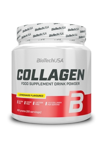 BioTechUSA Collagen Supplement Powder 300g - Lemonade EE6CAESDF054F5GS_1