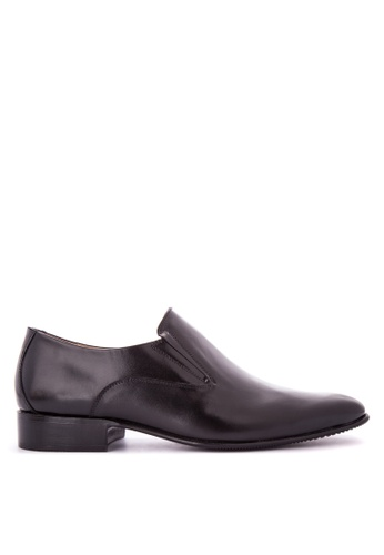 Bristol Shoes black Mickey Black Loafer BR842SH0KS59PH_1