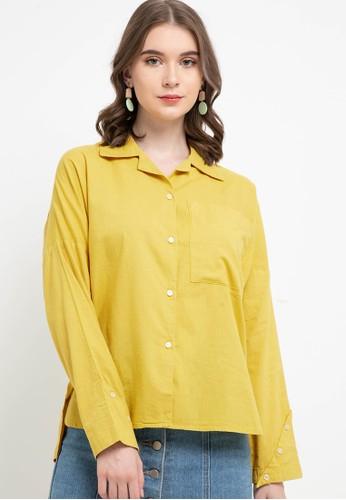 Lois Jeans yellow Cotton Shirt KC724 CD790AAC078C73GS_1